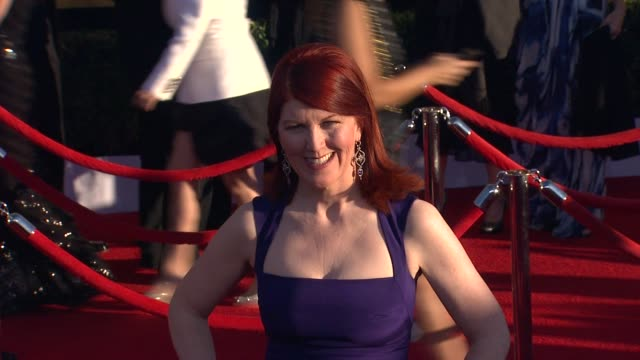 Kate Flannery at 18th Annual Screen Actors Guild Awards Arrivals on 1/29/2012 in Los Angeles CA