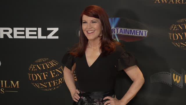 kate flannery at the 24th family film awards at hilton los angeles/universal city on march 24, 2021 in universal city, california. - universal city stock videos & royalty-free footage
