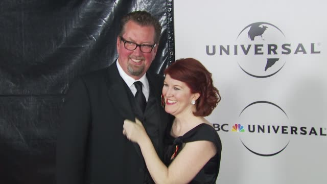 kate flannery at the nbc universal 67th annual golden globe awards afterparty at beverly hills ca - ゴールデングローブ賞点の映像素材/bロール