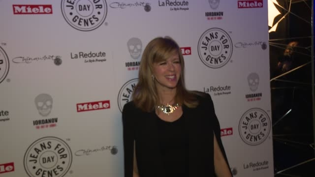 kate garraway at jeans for genes day 2015 launch party at chinawhite on september 02 2015 in london england - 2日目点の映像素材/bロール