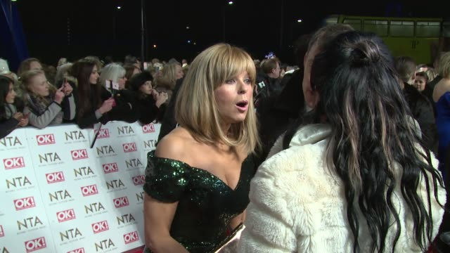 Kate Garraway at The O2 Arena on January 25 2017 in London England