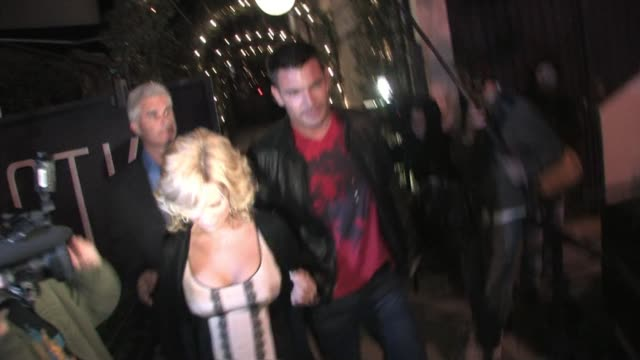 Kate Gosselin and Aiden Turner at STK in West Hollywood at the Celebrity Sightings in Los Angeles at Los Angeles CA