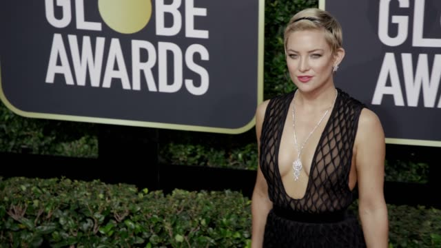 kate hudson at the 75th annual golden globe awards at the beverly hilton hotel on january 07 2018 in beverly hills california - kate hudson stock videos & royalty-free footage