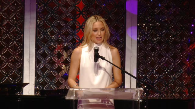 SPEECH Kate Hudson Goldie Hawn at Goldie Hawn's Inaugural 'Love In For Kids' Benefitting The Hawn Foundation's MindUP Program Transforming Children's...