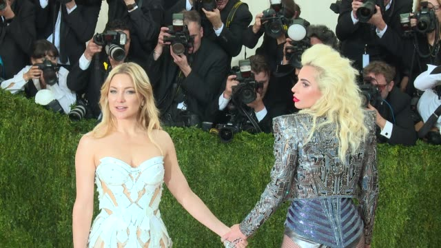 Kate Hudson Lady Gaga at Manus x Machina Fashion in an Age of Technology Costume Institute Benefit Gala Arrivals at Metropolitan Museum of Art at The...