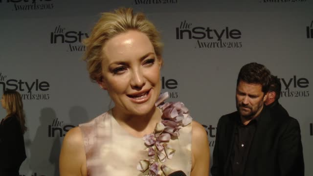 interview kate hudson on presenting an award to gwyneth paltrow at instyle presents the inaugural 'instyle awards' october 26 2015 in los angeles... - gwyneth paltrow stock videos and b-roll footage