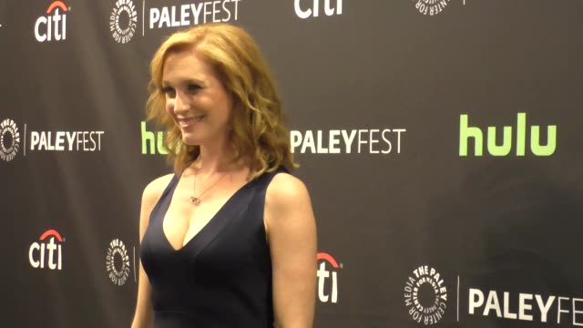 kate jennings grant at the paley center for media's paleyfest 2016 fall tv preview - abc at celebrity sightings in los angeles on september 10, 2016... - paley center for media los angeles stock videos & royalty-free footage