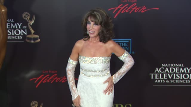 kate linder at the 37th annual daytime emmy awards at las vegas nv - annual daytime emmy awards stock videos & royalty-free footage