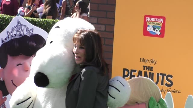 Kate Linder at The Peanuts Movie Premiere at Regency Village Theatre in Westwood on November 01 2015 in Los Angeles California