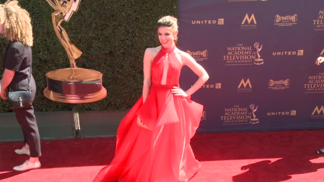 Kate Mansi at the 44th Annual Daytime Emmy Awards at Pasadena Civic Auditorium on April 30 2017 in Pasadena California