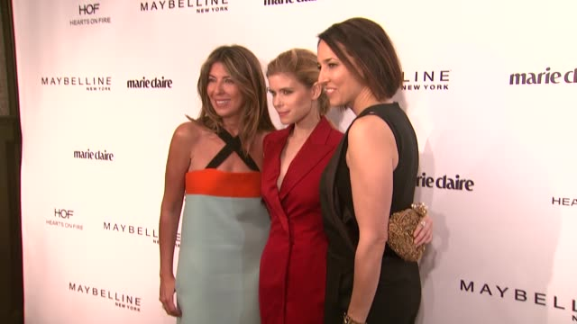 kate mara anne fulenwider nina garcia at marie claire celebrates may cover stars in los angeles ca - kate mara stock videos and b-roll footage