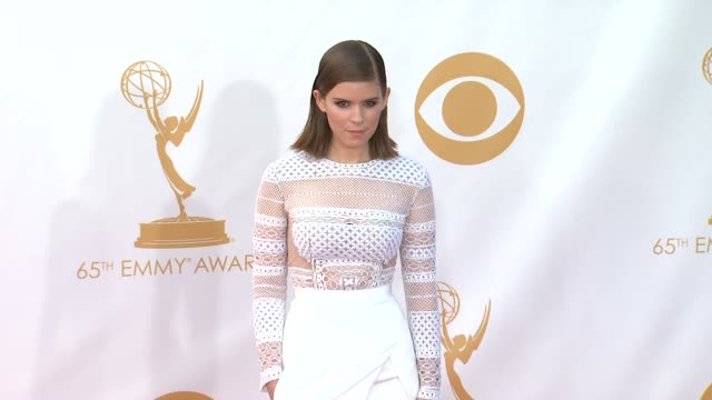 kate mara at 65th annual primetime emmy awards arrivals kate mara at 65th annual primetime emmy awards at nokia theatre la live on september 22 2013... - kate mara stock videos and b-roll footage