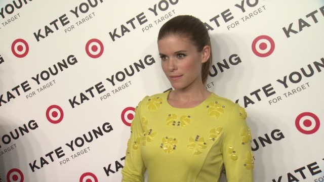 kate mara at kate young for target launch event on april 09 2013 in new york new york - kate mara stock videos and b-roll footage