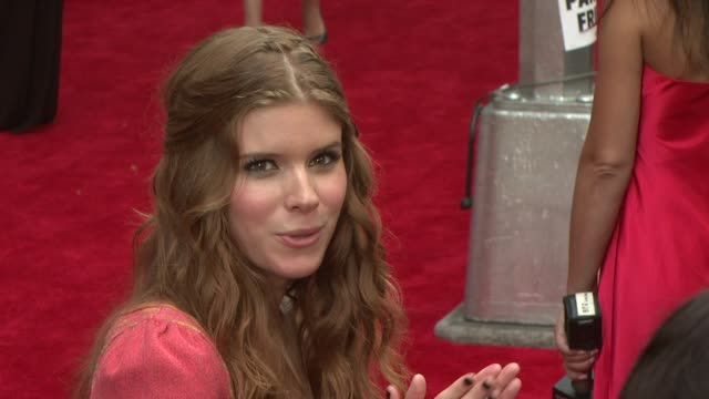 kate mara at the fashion rocks 2008 at new york ny - kate mara stock videos and b-roll footage