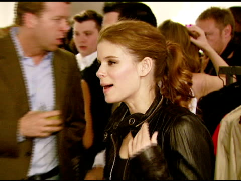 kate mara at the kenneth cole ny celebrates the awearness fund at the kc store in the beverly center in los angeles california on april 4 2008 - kate mara stock videos and b-roll footage