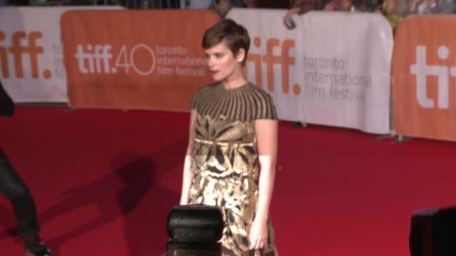 Kate Mara at The Martian Premiere 2015 Toronto International Film Festival at Roy Thomson Hall on September 11 2015 in Toronto Canada