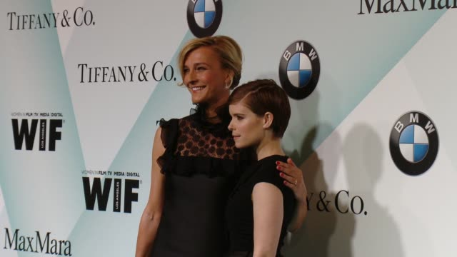 stockvideo's en b-roll-footage met kate mara at women in film 2015 crystal lucy awards presented by max mara bmw of north america and tiffany co at the hyatt regency century plaza on... - hyatt
