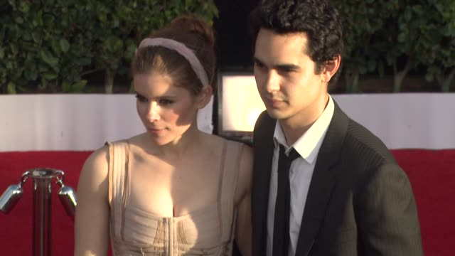 kate mara max minghella at the 17th annual screen actors guild awards arrivals part 2 at los angeles ca - kate mara stock videos and b-roll footage