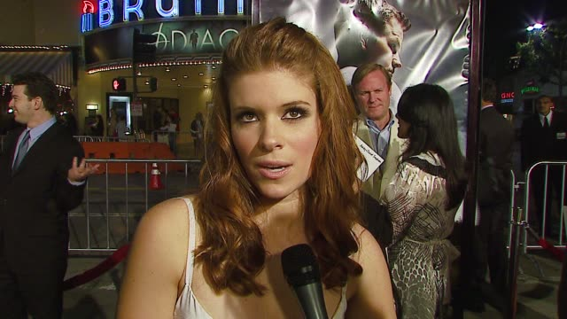 kate mara on realizing that this was a big role and a big opportunity for her career on her experience playing a strong southern woman on shooting a... - kate mara stock videos and b-roll footage