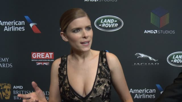 INTERVIEW Kate Mara on what brings her to the Britannia Awards and why Matt Damon is so deserving of the Stanley Kubrick Britannia Award for...