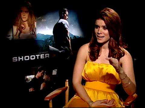 kate mara on what drew her to the role chemistry between her and mark walhberg what it was like to shoot in the snow for five days coming from a big... - kate mara stock videos and b-roll footage