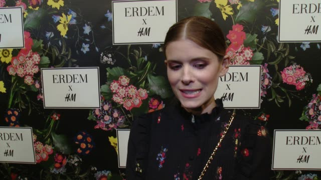INTERVIEW Kate Mara on why she wanted to support the Erderm x HM collaboration what she's expecting from the collection talks about her favorite...