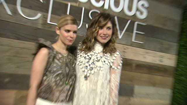 kate mara sophia bush at hm conscious exclusive dinner in los angeles ca - kate mara stock videos and b-roll footage
