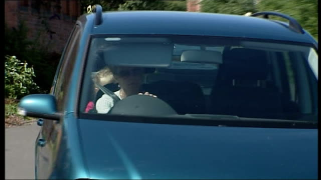 kate mccann along in car - disappearance of madeleine mccann stock videos & royalty-free footage