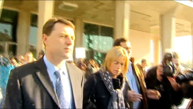 photography * * kate mccann along to press conference next gerry mccann - kate mccann stock videos & royalty-free footage