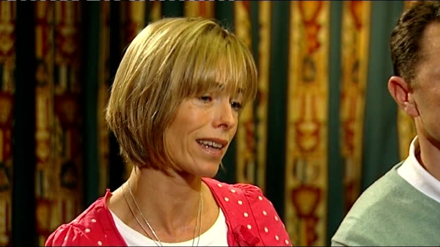 kate mccann interview sot words are not good enough particularly when they are in a position that they can actually do something about it gerry... - kate mccann stock videos & royalty-free footage