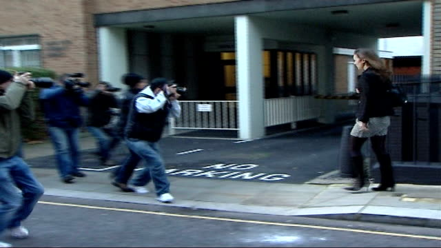 kate middleton makes formal press complaint r09010702 * * beware flash photography * * kate middleton wearing black/white print tunic dress dark... - 2007 stock videos & royalty-free footage