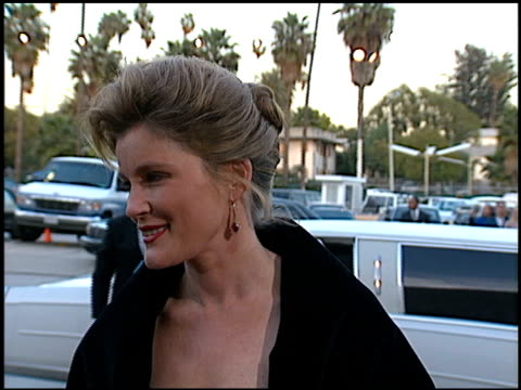 kate mulgrew at the blockbuster awards at pantages theater in hollywood, california on march 6, 1996. - パンテージスシアター点の映像素材/bロール