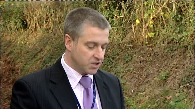 police find body; detective superintendent simon atkinson statement to press sot - at one o' clock this afternoon we found human remains close to the... - police statement stock videos & royalty-free footage