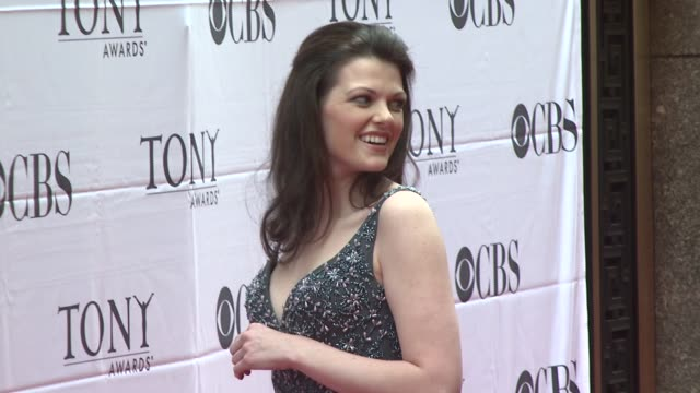kate shindle at the 2007 tony awards at radio city music hall in new york, new york on june 10, 2007. - radio city music hall stock videos & royalty-free footage