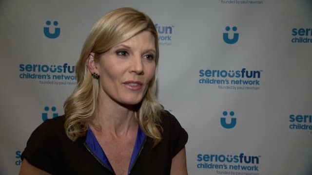 kate snow on tonight's event. on having kids, knowing the importance of camps at seriousfun children's network gala in new york at cipriani 42nd... - kate snow stock videos & royalty-free footage