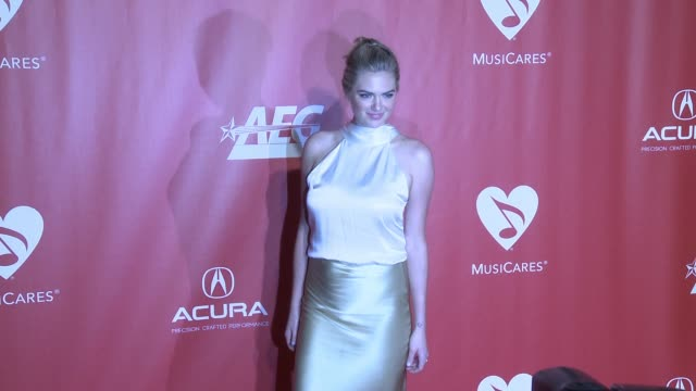 Kate Upton at MusiCares Person of the Year Honoring Tom Petty in Los Angeles CA