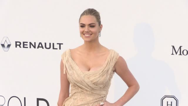 Kate Upton on the red carpet at the amfAR Gala during the Cannes Film Festival 2017 Thursday 25 May 2017 Cannes France