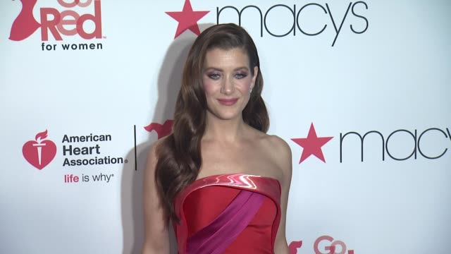 Kate Walsh at The American Heart Association's Go Red For Women Red Dress Collection 2018 Presented By Macy's at Hammerstein Ballroom on February 08...