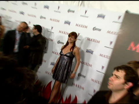 Kate Walsh at the Maxim's 8th Annual Hot 100 Party at Ono at The Gansevoort Hotel in New York New York on May 16 2007