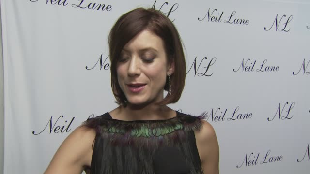 Kate Walsh on attending tonight's event on the jewelry she's wearing on the appeal of Neil's jewelry and on her well wishes to Neil and his store at...