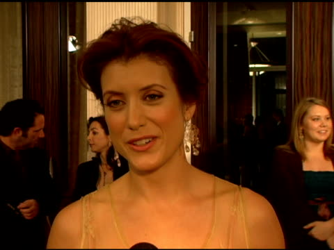 Kate Walsh on being an animal lover the importance of media awarness of animal rights and on the purpose that the Genesis Awards serves at the...
