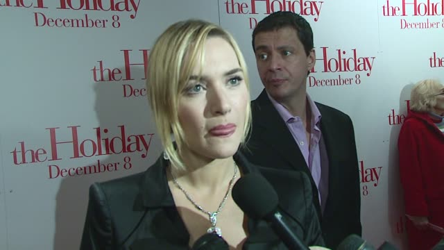 kate winslet/ actress ms winslet wears zac posen she talks about jack black's transition from comic relief to leading man and addresses whether or... - kate winslet stock videos & royalty-free footage