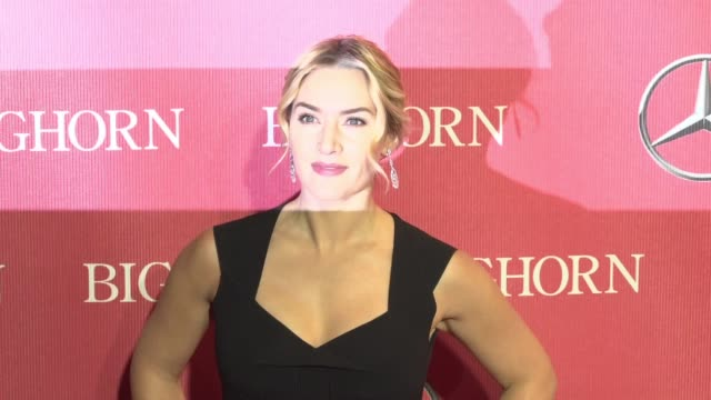 kate winslet at 27th annual palm springs international film festival awards gala in los angeles, ca 1/2/2016 - kate winslet stock videos & royalty-free footage
