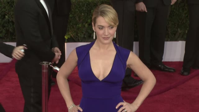 kate winslet at the 15th annual screen actors guild awards part 5 at los angeles ca. - kate winslet stock videos & royalty-free footage
