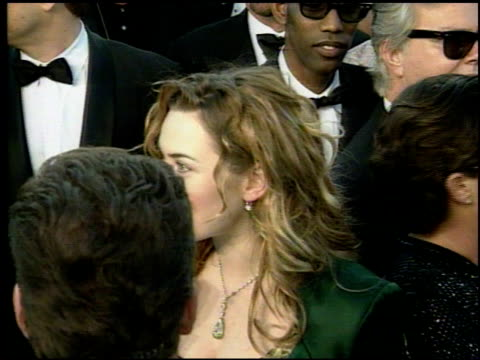 Kate Winslet at the 1998 Academy Awards Arrivals at the Shrine Auditorium in Los Angeles California on March 23 1998