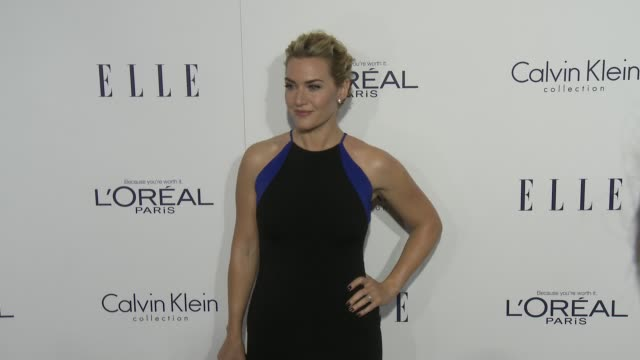 kate winslet at the 2015 elle women in hollywood awards at four seasons hotel los angeles at beverly hills on october 19, 2015 in los angeles,... - kate winslet stock videos & royalty-free footage