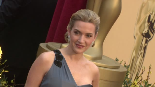 kate winslet at the 81st academy awards arrivals part 7 at los angeles ca. - kate winslet stock videos & royalty-free footage