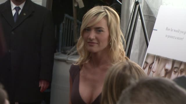 Kate Winslet at the 'The Reader' New York Premiere at New York NY