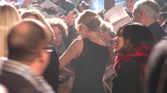 kate winslet at the uk revolutionary road premiere at london - kate winslet stock videos and b-roll footage