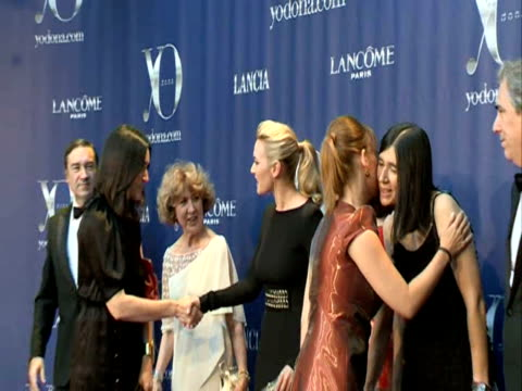 kate winslet attend yo dona awards 2011 europa press news capsules on june 28 2011 in madrid spain - kate winslet stock videos and b-roll footage